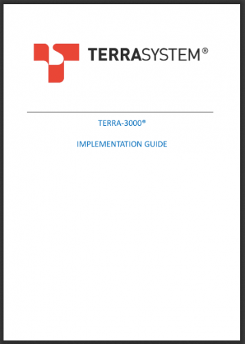 TERRA-3000 IMPLEMENTATION GUIDE