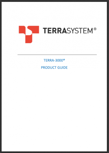 TERRA 3000 PRODUCT GUIDE