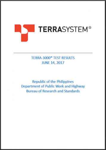 TERRA-3000 PHILIPPINES TEST RESULTS